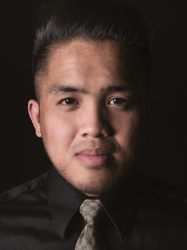 """Jay Soriano, Photographer. """"Rembrant Lighting"""" is a classic setup named after a famous painter from the 1600's. Still popular today, this particular variation is inspired by a couple of my favorite headshots of Steve Jobs and Tim Cook on the cover of TIME Magazine."""