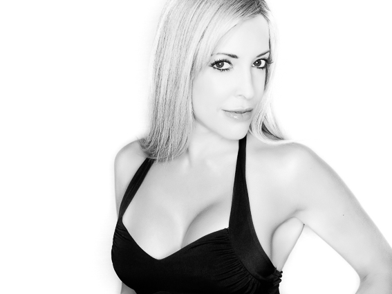 A Glamour Shot of Ms. Nevada Contestant Courtney K – The beauty of Black & White is in the simplicity