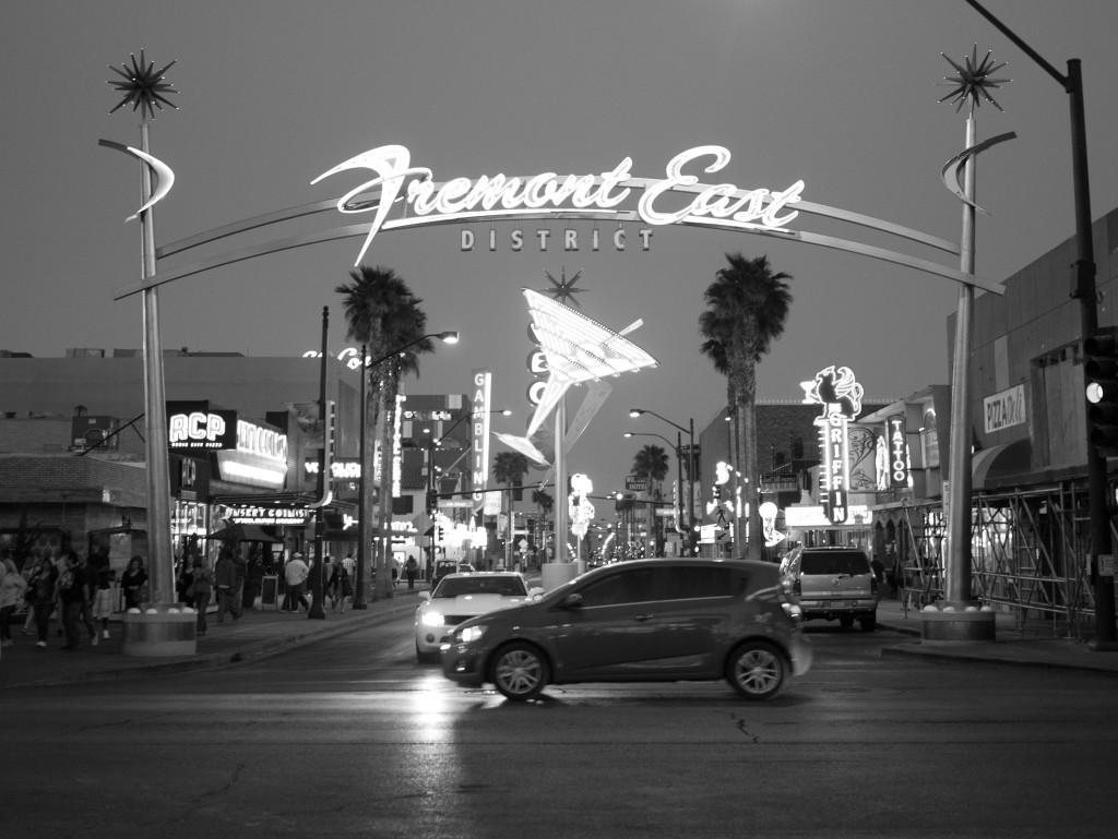 Downtown Las Vegas - Fremont East District Sign
