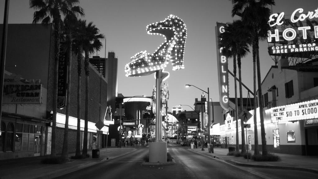 Downtown Las Vegas - High Heel Shoe Light