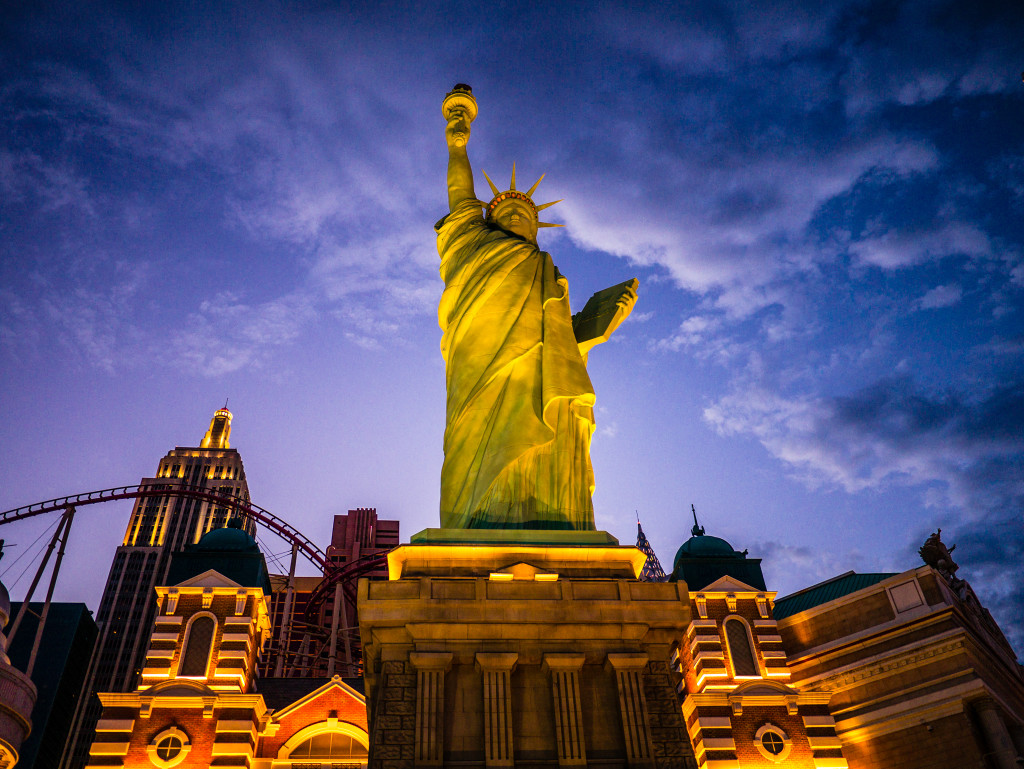 Statue of Liberty at NYNY in Las Vegas, NV
