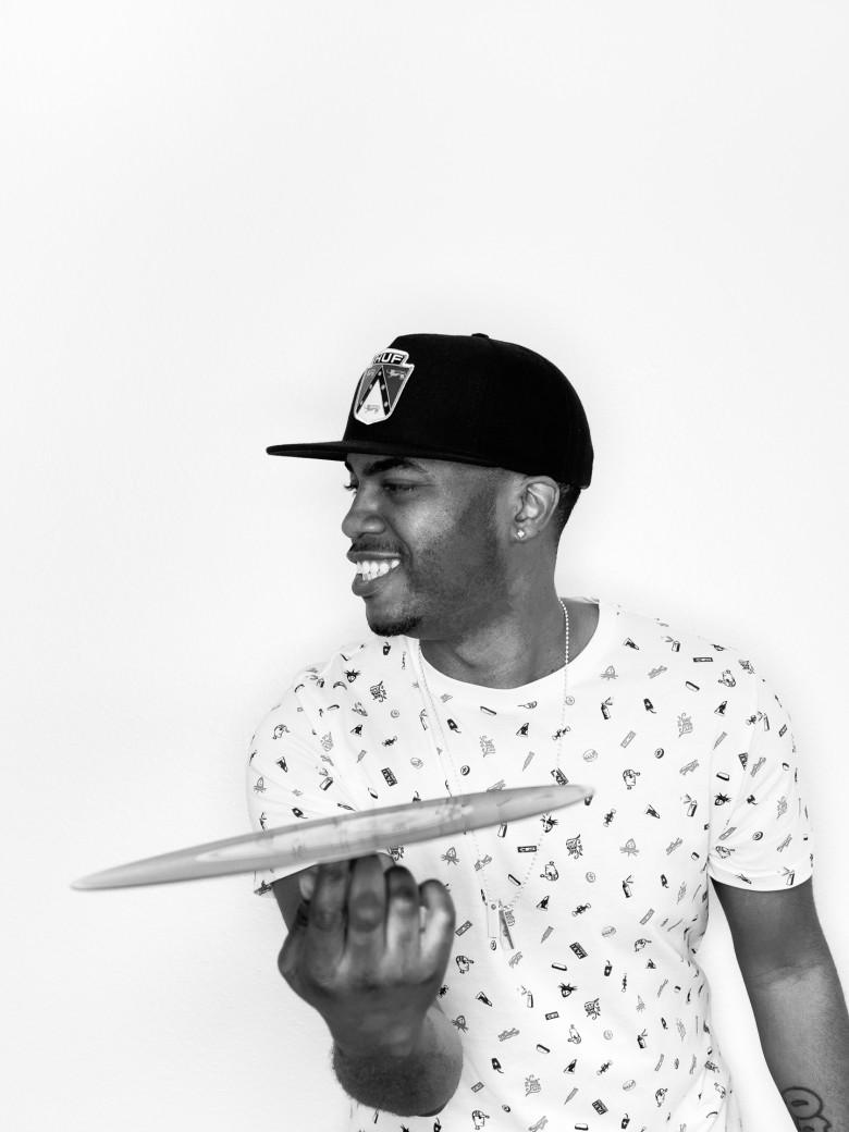 DJ Ease – B&W Portrait